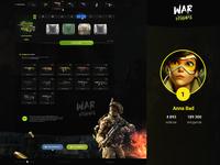 War Happy – Сase page