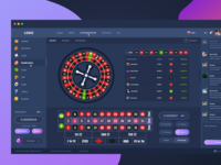 Roulette Game - crypto casino