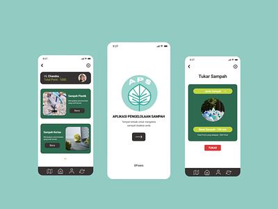 Environment App mobile app environment design environment minimal illustration design app ui