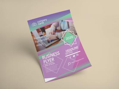 Corporate Flyer Design template simple professional stylish photoshop modern design flyer