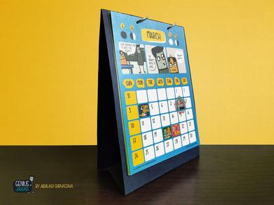Calendar 2019 by Genius Jackass