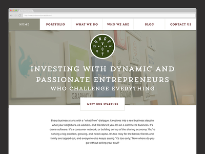 Dundee Venture Capital Redesign website