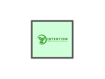 Contest logo-Intention Seeds seeds custom brand logo creative typography branding wordmark minimalist logo contest