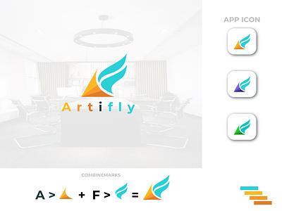 artifly logo logo fly art logo design logo mark logodesign logos logotype wordmark brand logo creative logo lettermark custom logo branding minimalist