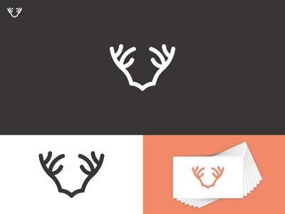 REINDEER business logo company logo mongram logodesign branding identity logo design logotypes deer logo mark logomark lettermark wordmark custom logo brand logo branding logo minimalist minimal logo deer logo