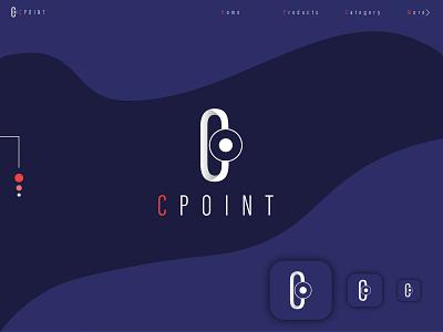 cpoint logo modern minimal logo minimal logo modern logo logoset monogram c logo branding identity brand logos logo design logotypes logodesign logomark wordmark lettermark custom logo brand logo branding minimalist logo