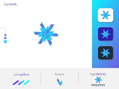 venterex logo   v monogram   branding brand logos branding identity logodesign v letter logo v monogram v logo wordmark custom logo lettermark brand logo branding logo minimalist