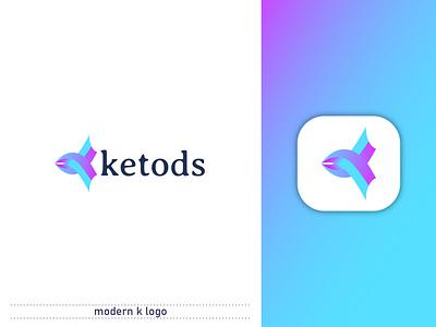 MODERN K LOGO | BRANDING logo design logomark brand logos branding identity k monogram k logo wordmark custom logo lettermark brand logo logo branding minimalist