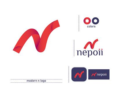 modern n logo | Branding branding identity logos logodesign n letter logo modern n logo n logo wordmark custom logo logo lettermark brand logo branding minimalist
