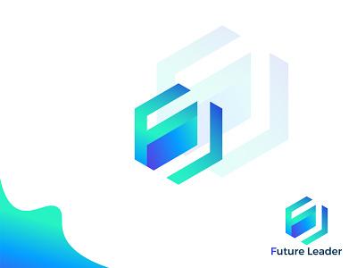 Future Leader logo | FL letter logo | Branding wordmark custom logo lettermark brand logo brand identity logomark logos logo design logo designer logo branding minimalist minimalist logo fl letter logo fl logo