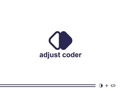 adjustment & coding combinemarks logo | branding logo design logos modern logo app icon coding adjustment custom logo lettermark logo brand logo branding minimalist