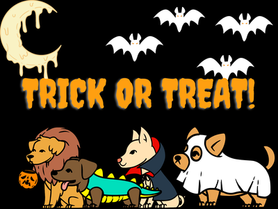 trick or treat design