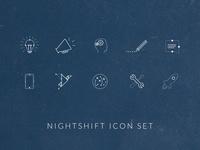 Night Shift Icon Set