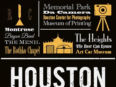 Chalkposters Houston houston chalk illustrator poster