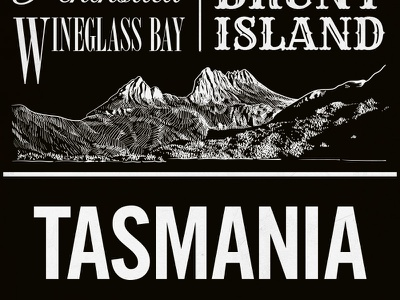 Chalkposters Tasmania tasmania chalk illustrator poster