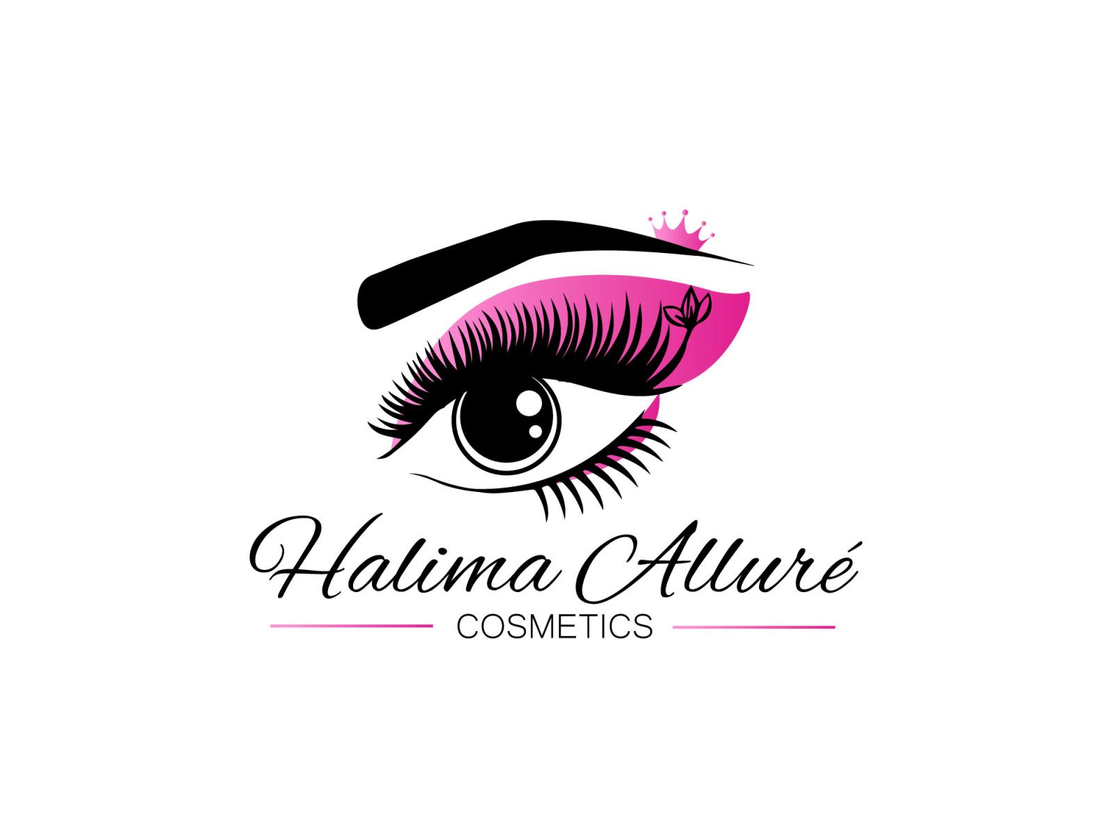 Eye Makeup Logo By Tanvina Akhtar On