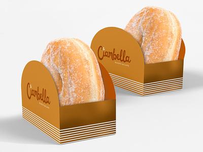 Ciambella - Donut Packaging italian scriptfont packaging logo logodesign