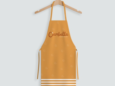 Ciambella Apron Apparel design logotype apron apparel logodesign logo