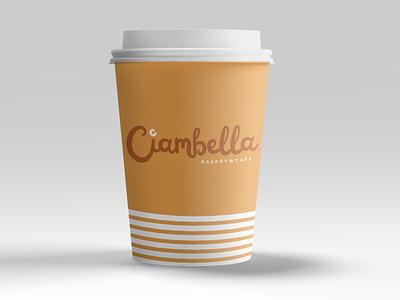 Ciambella Coffee Cup coffee cup cafe logo bakerylogo bakery logodesigns packaging logo