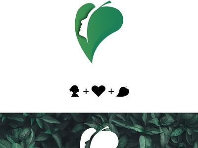 Verdant Momma branding art vector logo design