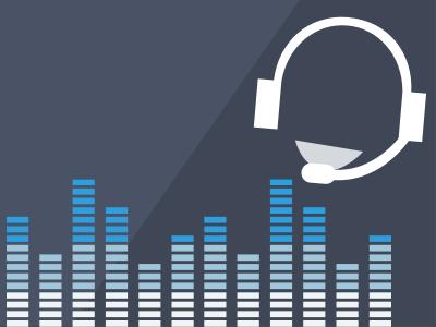 Audio Test midi volume headset music blue dark test audio