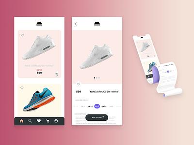 Product page design - single item branding logo icon illustration figmadesign ui ux design dailyuichallenge app