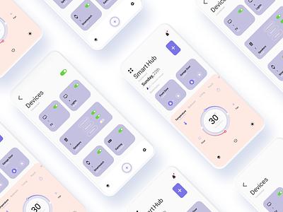 Smart Home figmadesign ui ux design app dailyuichallenge