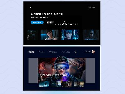 Movie app - smart tv movie app smart tv figmadesign ux ui design dailyuichallenge