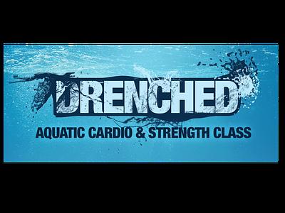 Drenched Logo header design ux logo web logo design design branding typography