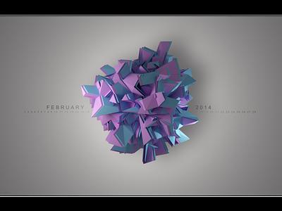 Desktop Calendar Background abstract design 3d artist web 3d art icon graphic design ux design typography