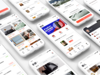 不花钱app Redesign