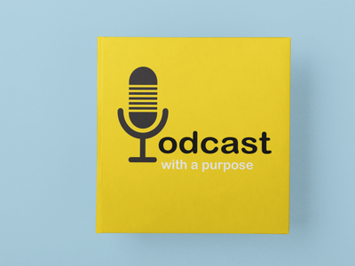 Mockup of Podcast Logo podcast logo podcast logo concept business card design business card design logo design logo branding design branding