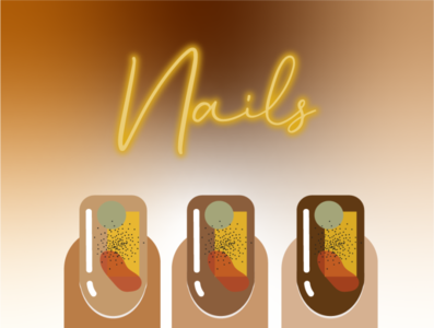 Melanin Nails illustration nails melanin