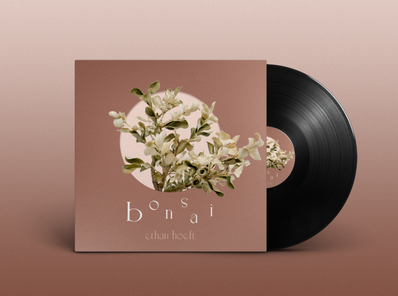 bonsai typography branding logo illustration design music graphicdesign cover artwork album artwork cover art bonsai