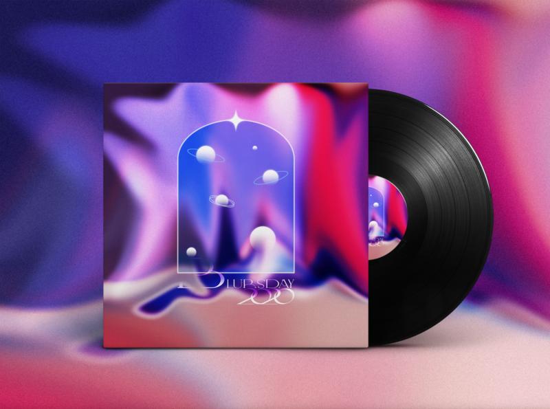 Blursday 2020 graphic design logo design art illustration cover artwork graphicdesign typography music cover art album artwork