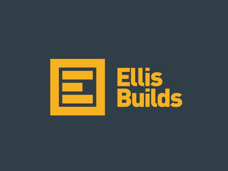Ellis Builds din e logo build construction