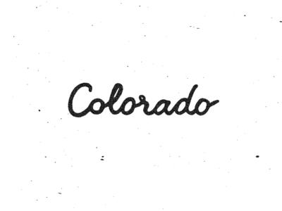 Colorado, ever heard of it?
