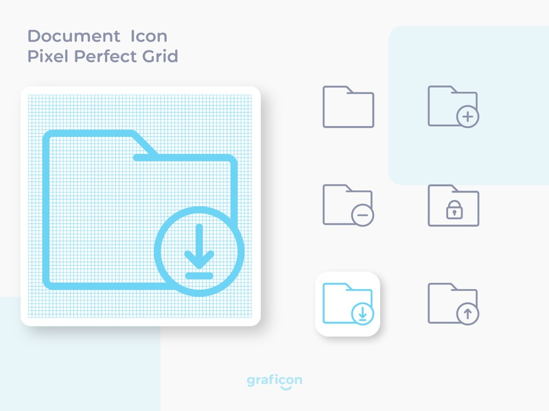 Document Outline Icon, Pixel Perfect grid symbol sign buttons pixel perfect make icon app icon design logo branding flat icon web app illustration ux ui web icon app icon outline icon custom icon icon set icon