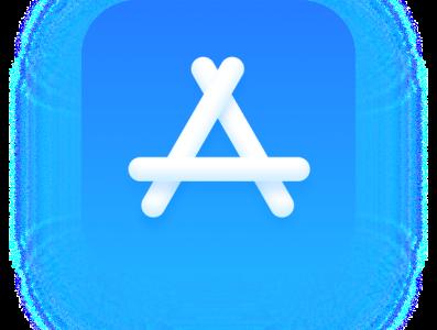 MacOS Big Sur Style App Store branding logo design icon app vector
