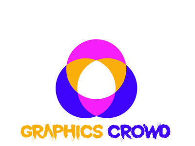 GRAPHICS CROWD 01 branding design vector modern logo illustration minimalist logo logo logo design creative logo best logo