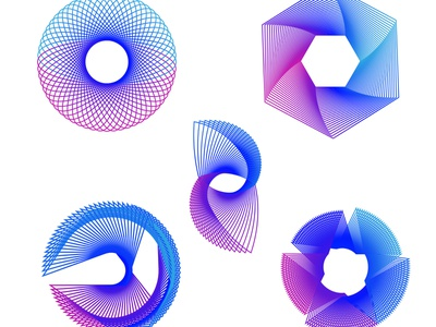 Artwork vector illustration branding animation design pattern art pattern