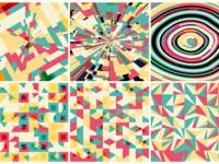 Conic-gradient patterns