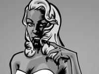 Suckers comic book illustration