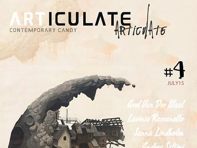 ARTICULATE #4 design publication contemporary art art magazine