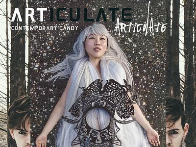 ARTICULATE #6 typography design publication contemporary art art magazine