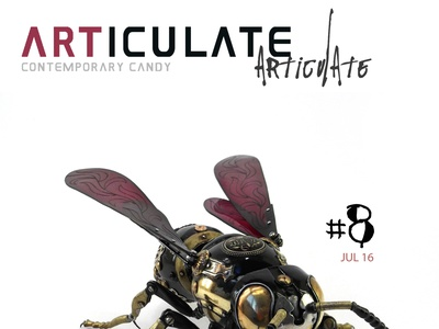 ARTICULATE #8 typography publication design contemporary art art magazine