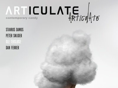 ARTICULATE #10 typography publication design contemporary art art magazine