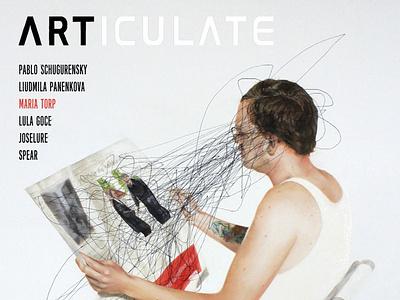 ARTICULATE  #14 typography design publication contemporary art art magazine