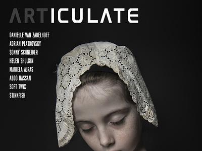ARTICULATE  #15 typography publication design contemporary art art magazine