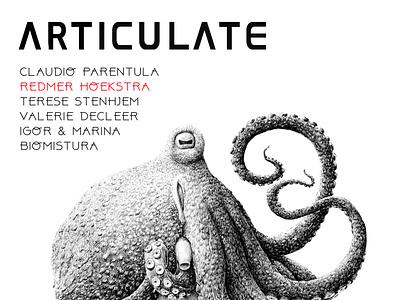 ARTICULATE #16 typography publication design contemporary art art magazine